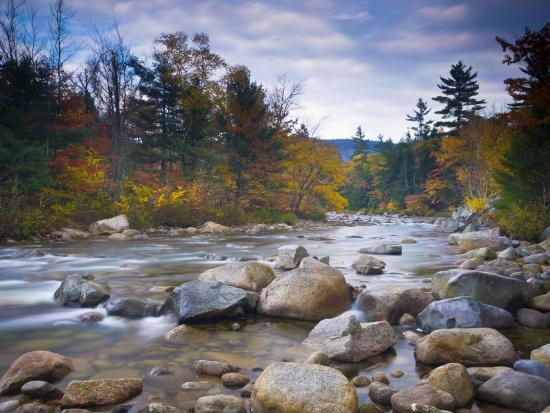 Swift River, White Mountain National Park, New Hampshire, USA