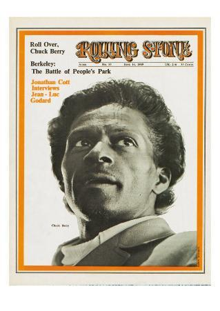 Chuck Berry, Rolling Stone no. 35, June 14, 1969