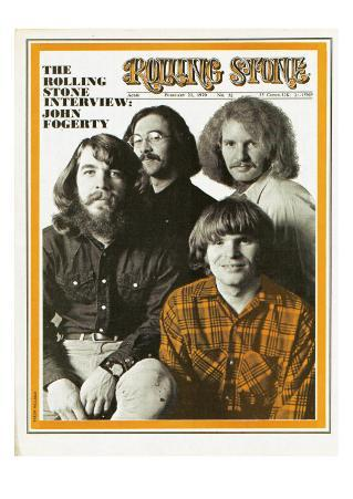 Creedence Clearwater Revival, Rolling Stone no. 52, February 21, 1970