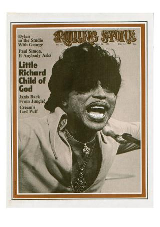 Little Richard, Rolling Stone no. 59, May 28, 1970