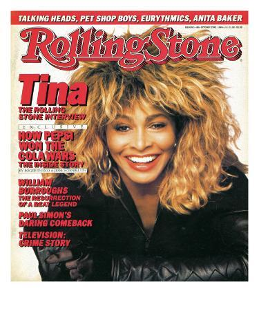 Tina Turner, Rolling Stone no. 485, October 23, 1986