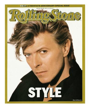 David Bowie, Rolling Stone no. 498, April 23, 1987