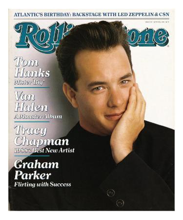 Tom Hanks, Rolling Stone no. 529, June 30, 1988