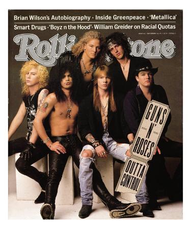 Guns 'n Roses, Rolling Stone no. 612, September 5, 1991