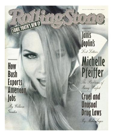 Michelle Pfeiffer, Rolling Stone no. 638, September 3, 1992