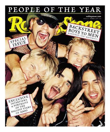 Backstreet Boys, Rolling Stone no. 856/857, December 14 - 21, 2000