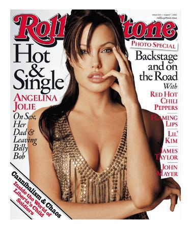 Angelina Jolie, Rolling Stone no. 928, August 7, 2003