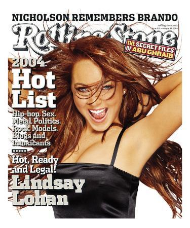 Lindsay Lohan, Rolling Stone no. 955, August 19, 2004