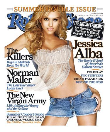 Jessica Alba, Rolling Stone no. 977/978, June 30 - July 14, 2005