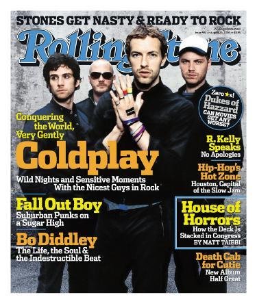 Coldplay, Rolling Stone no. 981, August 25, 2005