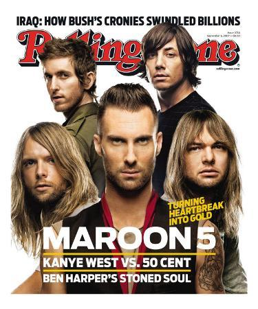Maroon 5, Rolling Stone no. 1034, September 6, 2007