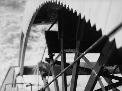 Paddle Wheel of S.S. Athabasca River