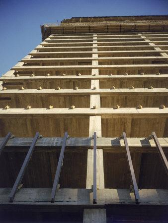 Construction of the Seagram's Building Designed by Architect Mies Van Der Rohe
