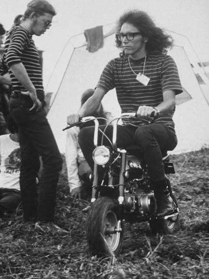 Jorma Kaukonen Of Jefferson Airplane At Woodstock Music