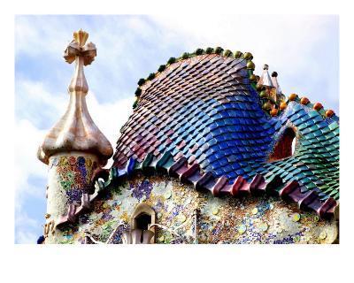 Casa Batllo Roof Top, Barcelona, Spain