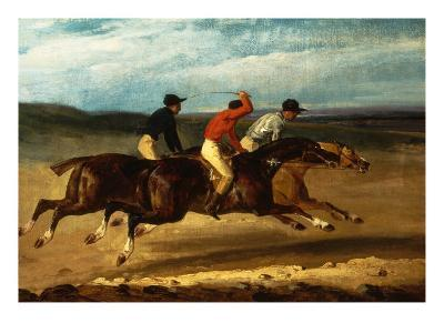 Horse Race with Riders