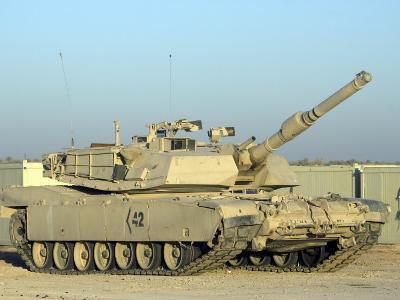 M1 Abram Tank at Camp Warhorse