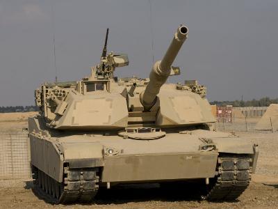 M1 Abrams Tank at Camp Warhorse