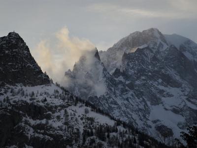 Mont Blanc as Seen from Aiguille Du Midi, Chamonix, France