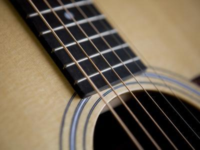 Close View of a Guitar, Annapolis, Maryland, United States