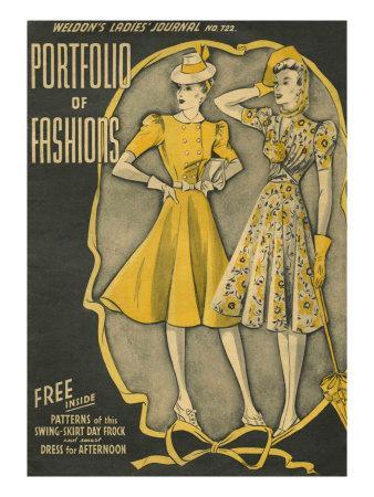 Weldon's Ladies Journal, Magazine Cover, UK, 1940