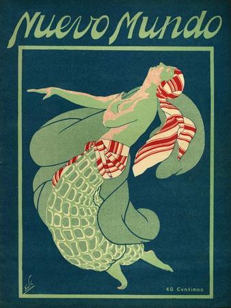 Nuevo Mundo, Magazine Cover, Spain, 1931