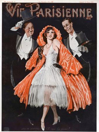 La Vie Parisienne, Magazine Cover, 1924