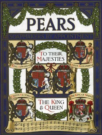 Pears Annual, Magazine Advertisement, UK, 1911