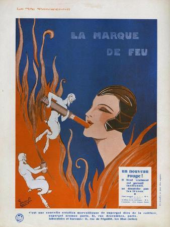 La Marque de Feu, Magazine Advertisement, France, 1910