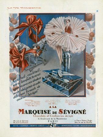 Marquise de Sevigne, Magazine Advertisement, France, 1929