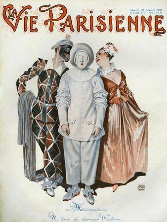 La Vie Parisienne, Magazine Cover, France, 1931