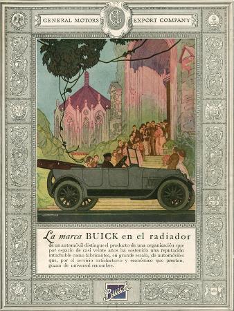 Buick, Magazine Advertisement, USA, 1920