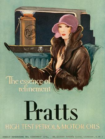 Pratts, Magazine Advertisement, UK, 1930