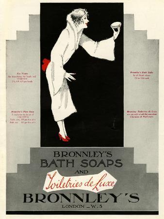 Bronnley's, Magazine Advertisement, UK, 1920