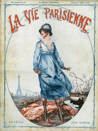 La Vie Parisienne, Magazine Cover, France, 1918