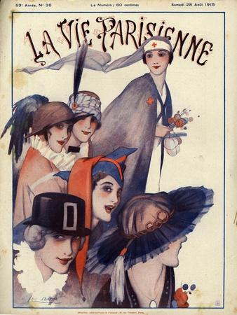 La Vie Parisienne, Magazine Cover, France, 1915