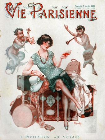 La Vie Parisienne, Magazine Cover, France, 1929