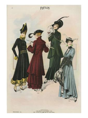 Le Costume Royal, Magazine Plate, USA, 1914