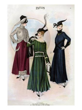 Le Costume Royal, USA, 1915