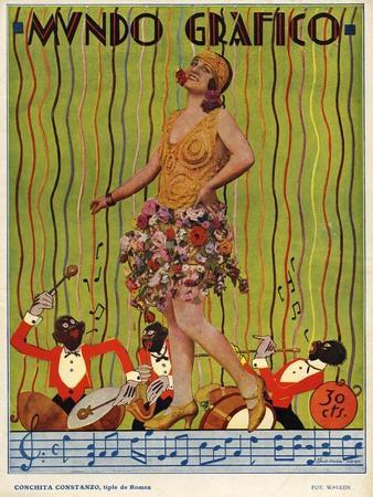 Mundo Grafico, Magazine Cover, Spain, 1927