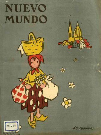 Nuevo Mundo, Magazine Cover, Spain, 1919