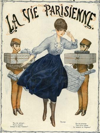 La Vie Parisienne, Magazine Cover, France, 1916