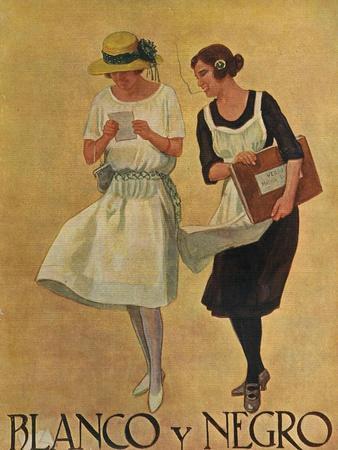Blanco y Negro, Magazine Cover, Spain, 1922