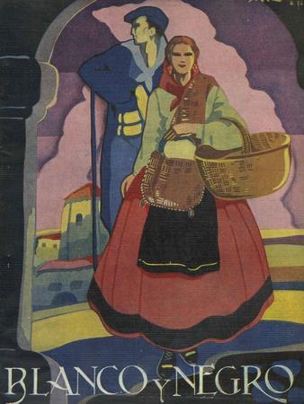 Blanco y Negro, Magazine Cover, Spain, 1936