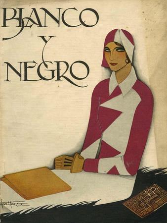 Blanco y Negro, Magazine Cover, Spain, 1930