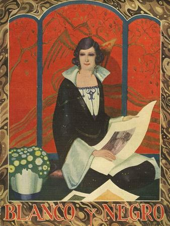Blanco y Negro, Magazine Cover, Spain, 1924
