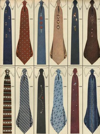 Ties, Magazine Advertisement , USA, 1950