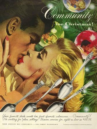 Community Cutlery, Magazine Advertisement, USA, 1951