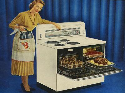 Hotpoint, Magazine Advertisement , UK, 1950