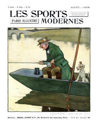 Les Sports Modernes, Magazine Cover, France, 1906